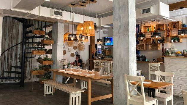 Enjoy Greek delights at Meraki Greek Bistro in downtown Miami.
