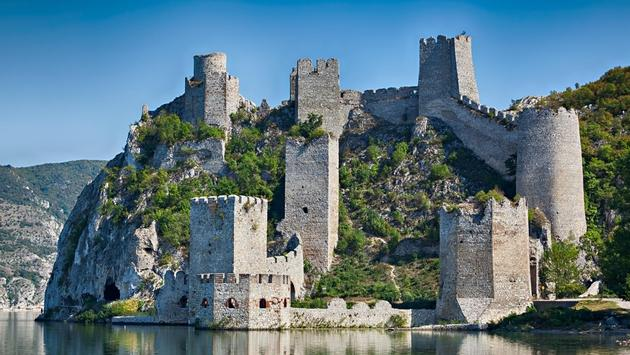 The Golubac Fortress, Serbia