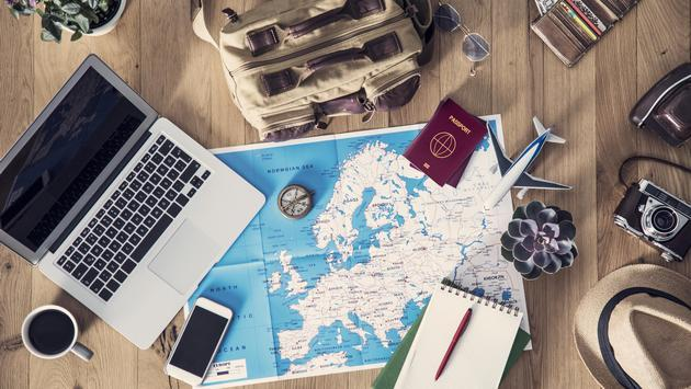 Travel planning concept on map (Photo via seb_ra / iStock / Getty Images Plus)