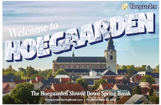 Hoegaarden Slowed Down Spring Break package