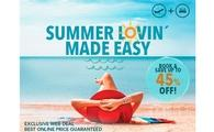 Palladium Hotel Group makes your summer lovin easy with up to 45% OFF!
