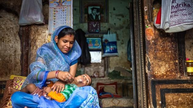 Mother in India