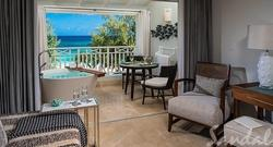 Up to $1000 Instant Credit in Barbados: Beachfront Penthouse Club Level Suite