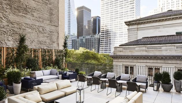 Terrazzo Lounge and Terrace at Park Terrace Hotel