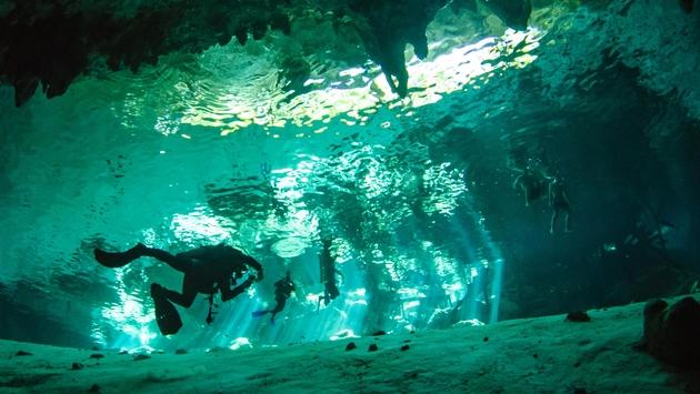 Cenotes in Mexico's Yucatan Peninsula