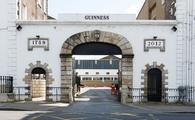 The St. James's Gate Brewery is the home of Guinness in Dublin, Ireland.'