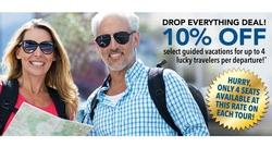 DROP EVERYTHING DEAL! 10% OFF