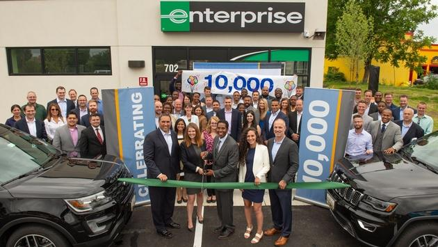 Enterprise Opens Historic 10,000th Car Rental Location ...