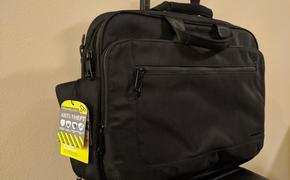 The Anti-Theft slim briefcase from Travelon is designed to keep your stuff safe