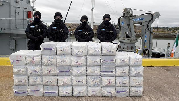 One ton of seized cocaine