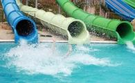 slide in water park