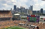 Heinz Field in Pittsburgh, home of the NFL Pittsburgh Steelers