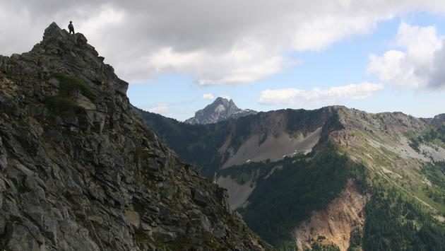 Scenery in the Washington state portion of the Pacific Crest Trail