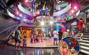NBA Experience at Disney Springs rendering
