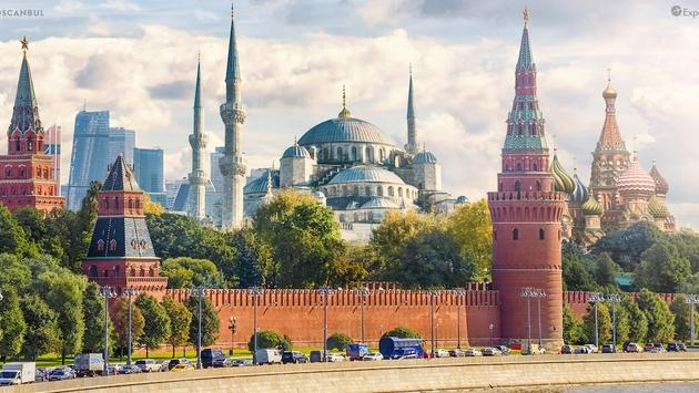 Moscanbul is a blend of Moscow and Istanbul