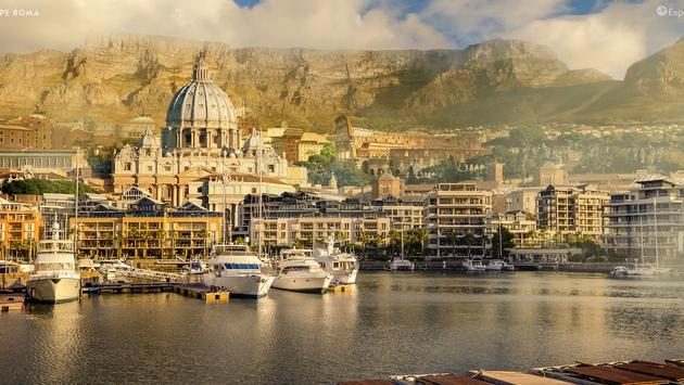 Cape Roma is a blend of Cape Town and Rome