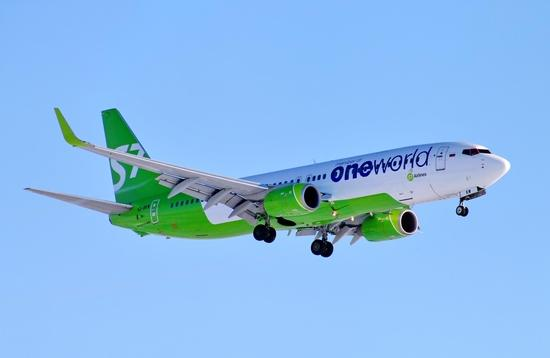 S7 Airlines, Boeing 737, Russia, Novy Urengoy Airport