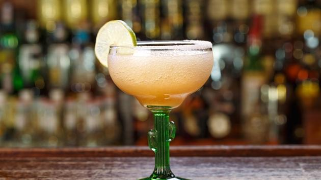 A margarita with lime