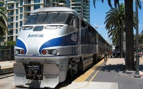 Amtrak's Pacific Surfliner train