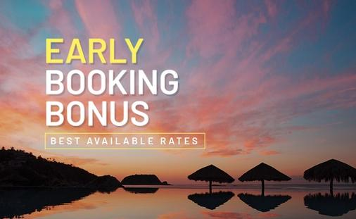 Book early, save more.