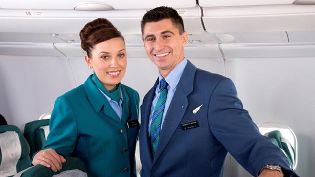 Aer Lingus flight attendants.