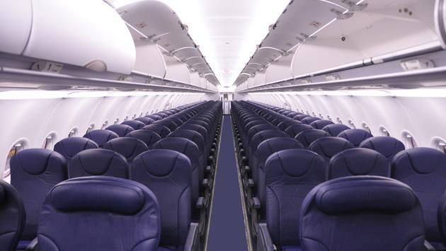 Spirit Airlines Airbus A320 cabin