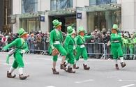 St. Patrick's Day parade in New York