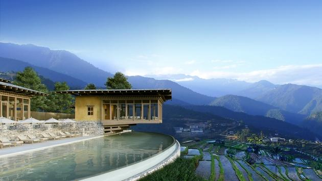 Reservations for Six Senses' Thimphu, Paro and Punakha resorts are  being bing accepted for stays beginning on Nov. 3, 2018. (Photo courtesy of Six Senses Hotels Resorts Spas)