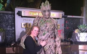 Christine Hardenberger and Groot