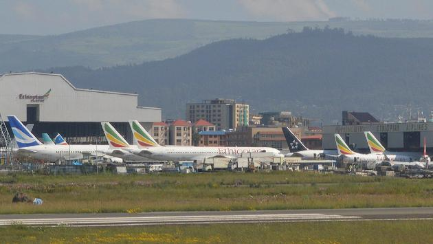 Addis Ababa Bole International Airport, Ethiopia