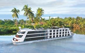 The Emerald Harmony will operate on the Mekong river in Vietnam and Cambodia beginning in August of 2019. (Photo courtesy of Emerald Waterways)