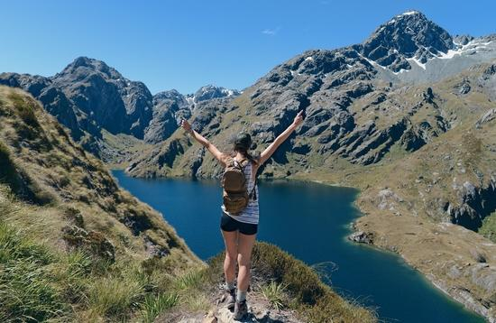 Routeburn Track, New Zealand, hiking