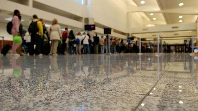 Security line at Hartsfield-Jackson Atlanta International Airport