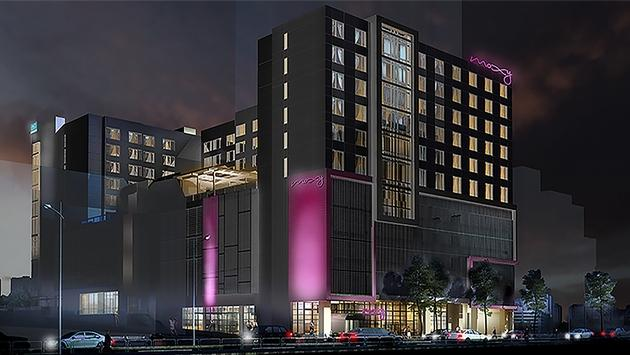 Dual-branded AC Hotel Atlanta Midtown and Moxy Atlanta Midtown