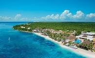 Aerial View of Suscape Sabor Cozumel