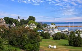 Mackinac City on Mackinac Island