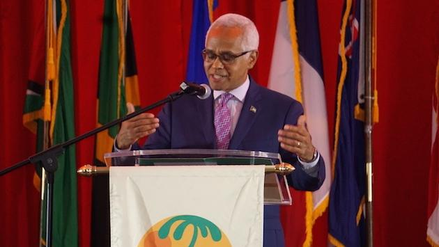 Dionisio D'Aguilar, chairman of the Caribbean Tourism Organizationd