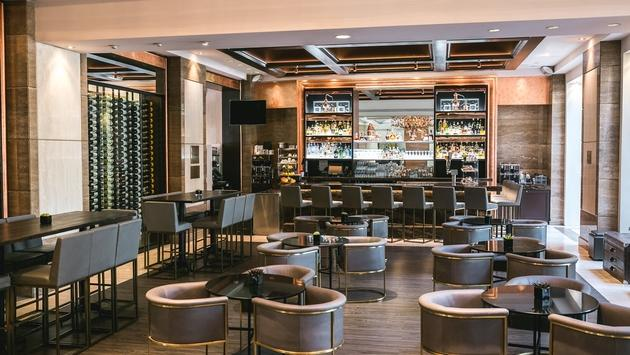 The Copper Lounge at InterContinental Los Angeles Century City.