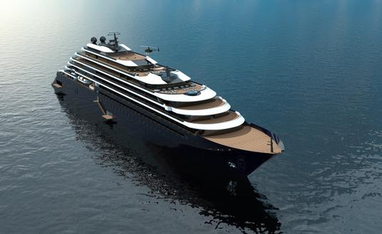 The Ritz-Carlton Yacht Collection is planning to build three sleek vessels