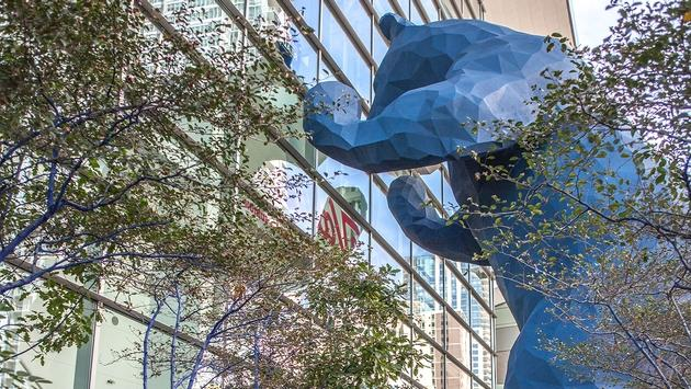 Denver convention center & Blue Bear