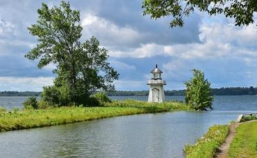 St. Lawrence River from Upper Canada Village, Ontario