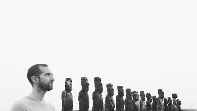 IntroverTravels founder Jacob Marek on Easter Island