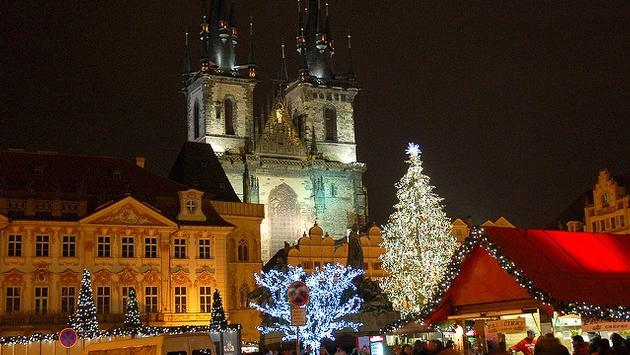 Prague's famed Christmas Market