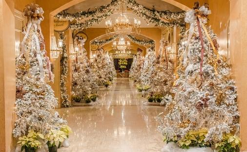 Royal Sonesta Decorated for the Holidays