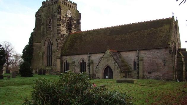 Polesworth Abbey, home to Porter's Lodge Cottages