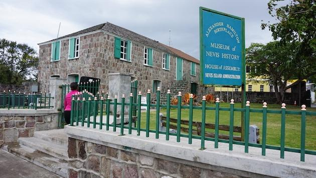 Museum of Nevis History and birthplace of Alexander Hamilton