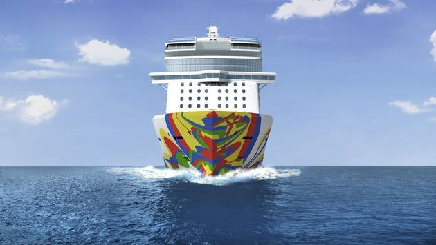 Norwegian Encore art rendering