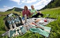 Picnickers enjoy Baiersbronn