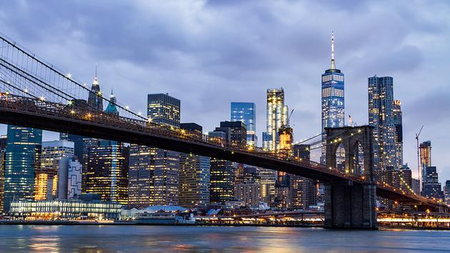 New York City skyline, NYC