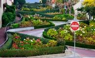 Lombard, San Francisco, roads